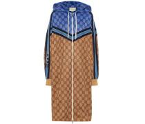 Lange Jacke aus GG Jersey