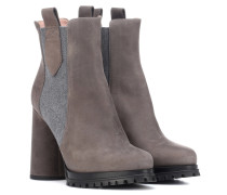 Ankle Boots Agamia aus Veloursleder