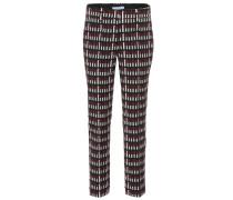 Bedruckte Hose aus Schurwolle