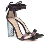 Sandalen Astra aus Veloursleder