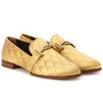 Loafers aus Satin