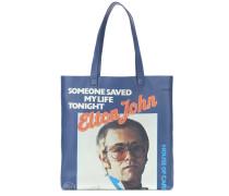 Shopper Elton John aus Leder