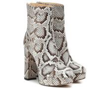 Ankle Boots Rachel aus Schlangenleder