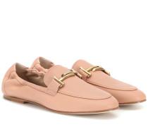 Loafers Double T aus Leder