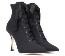 Ankle Boots Lori aus Stretch-Material