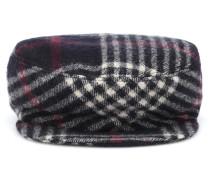 Karierte Mütze Naly aus Wolle
