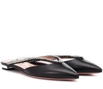 Slippers Sabine aus Leder