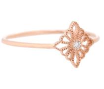 Ring Madame Bovary aus 18kt Roségold mit Diamanten