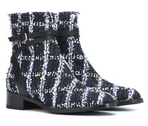 Exklusiv bei Mytheresa – Ankle Boots Harris 35 aus Tweed