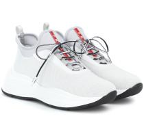 Sneakers mit Mesh