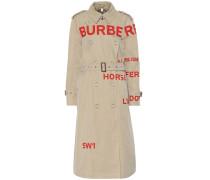 Bedruckter Trenchcoat