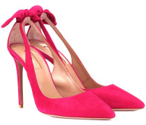 Pumps Deneuve 105 aus Veloursleder