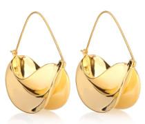 Ohrringe Paniers Dorés mit 18kt Goldauflage