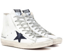 High-Top-Sneakers Francy aus Leder