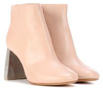 Ankle Boots Claudine aus Leder