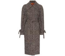 Mantel aus Wolle und Baumwolle