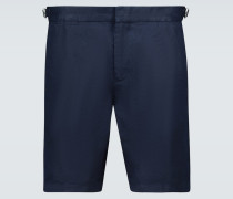 Slim-Fit Shorts Norwich aus Leinen