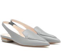 Slingback-Slippers Beya aus Leder