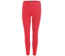 Cropped High-Rise Skinny Jeans Rocket