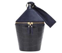 Bucket-Bag Minnow aus Leder