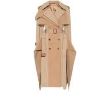 Alexander McQueen Trenchcoat aus Baumwolle