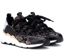 Sneakers Trek Comet mit Leder