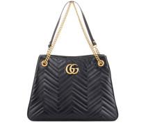 Shopper GG Marmont aus Leder