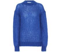 Pullover aus einem Mohair-Gemisch