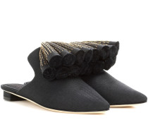 Exklusiv bei Mytheresa – Slippers Sanguarina aus Canvas