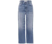 Weite Jeans Kim aus Baumwolle