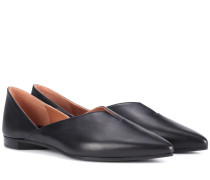 Flats Secret Mule aus Leder