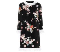 Minikleid aus Samt