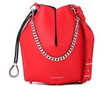 Alexander McQueen Bucket-Bag aus Leder