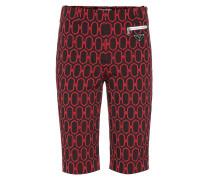 Gemusterte Shorts aus Jacquard