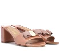 Sandalen Vara Bow aus Lackleder