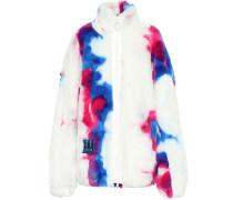 Bedruckte Jacke aus Faux Fur