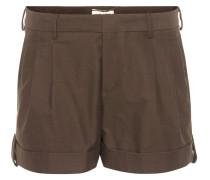 Shorts aus Stretch-Baumwolle