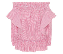 Alexander McQueen Off-Shoulder-Top aus Baumwolle