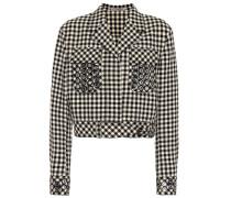 Jacke aus Baumwolle und Wolle