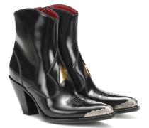 Ankle Boots Nora aus Leder