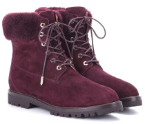 Ankle Boots The Heilbrunner aus Veloursleder