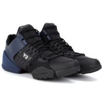 Sneakers Kanja aus Leder und Neopren