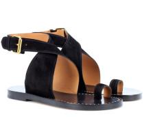 Sandalen Jools aus Veloursleder