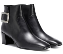 Ankle Boots Polly 45 aus Leder