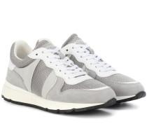 Sneakers Jogger mit Velourslederanteil