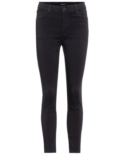 High-Rise Cropped Jeans Alana