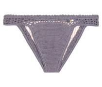 Bikini-Höschen Essential Cheeky aus gehäkelter Baumwolle