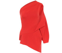 One-Shoulder-Pullover aus Wolle