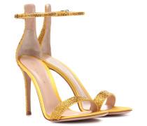 Sandalen Glam aus Satin