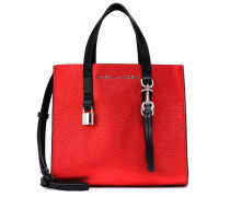 Tote The Grind Mini aus Metallic-Leder